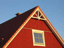 Casa roja Fotografía de archivo libre de regalías