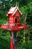 Casa roja del alcohol Imagen de archivo libre de regalías