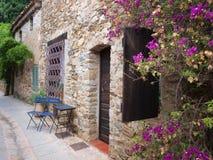 Casa romântica velha na cidade histórica Fotos de Stock Royalty Free