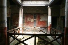 Casa romana de Stabia fotografía de archivo libre de regalías