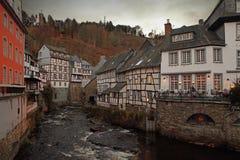 Casa romantica della Germania Fotografia Stock