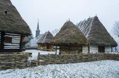 Casa romena tradicional imagens de stock royalty free