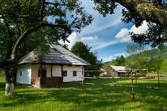 Casa romena tradicional Fotografia de Stock