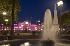 Casa Rosada Αργεντινή Στοκ Εικόνες