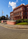 Casa Rosada στο Μπουένος Άιρες Στοκ Εικόνα