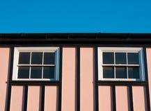Casa rosada Foto de archivo libre de regalías