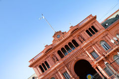 Casa Rosada Royalty Free Stock Photography