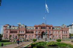 Casa Rosada Obrazy Royalty Free