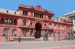 Casa Rosada Royaltyfria Foton
