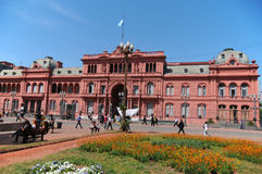 Casa Rosada Arkivbilder