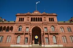 Casa Rosada Στοκ φωτογραφία με δικαίωμα ελεύθερης χρήσης
