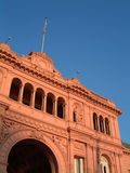 Casa rosada Royalty Free Stock Images