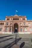 Casa Rosada budynek w Buenos Aires, Argentyna. Fotografia Stock