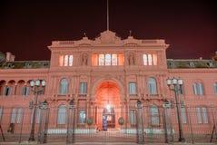 Casa Rosada - Buenos Aires, Argentina Royaltyfria Bilder