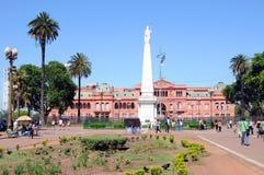 :Casa Rosada Royalty Free Stock Photos