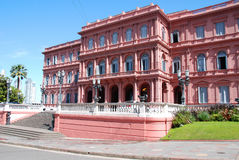 Casa Rosada. BUENOS AIRES ARGENTINE NOVEMBER 25:Casa Rosada (pink house) Buenos Aires Argentina.La Casa Rosada is the official seat of the executive branch of Stock Photo