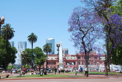 Casa Rosada. BUENOS AIRES ARGENTINE NOVEMBER 25:Casa Rosada (pink house) Buenos Aires Argentina.La Casa Rosada is the official seat of the executive branch of Royalty Free Stock Photo