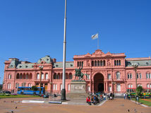 Casa Rosada in Buenos aires, Argentinië Stock Afbeeldingen