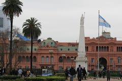 Casa Rosada in the citycenter of Buenos Aires Stock Photos
