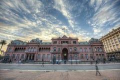 Casa Rosada-Gebäude in Buenos Aires, Argentinien Lizenzfreies Stockbild