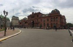 Casa Rosada i Buenos Aires Arkivfoto