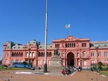 Casa Rosada i Buenos Aires, Argentina Arkivbilder