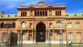 Casa Rosada Royalty Free Stock Photos