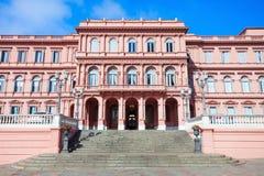 Casa Rosada menchii dom Obraz Royalty Free
