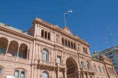 Casa Rosada (Pink House) Royalty Free Stock Images