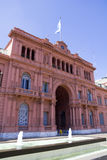 Casa Rosada (Pink House) Stock Photo