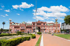 Casa Rosada (pink house), Buenos Aires Argentinien Royalty Free Stock Images