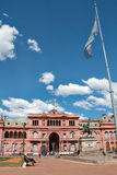 Casa Rosada (pink house), Buenos Aires Argentinien Stock Images