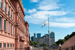 Casa Rosada (pink house), Buenos Aires Argentinien Stock Photography