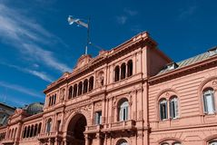 Casa Rosada, presidential palace from Argentina Royalty Free Stock Image