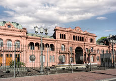 Casa Rosada, presidential palace of Argentina Stock Photography
