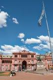 Casa Rosada (rosa färghuset), Buenos Aires Argentinien Arkivbilder