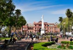 Casa Rosata, Μπουένος Άιρες στοκ φωτογραφία με δικαίωμα ελεύθερης χρήσης