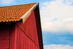 Casa rossa Fotografie Stock