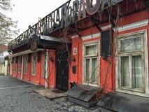 Casa rossa Fotografia Stock