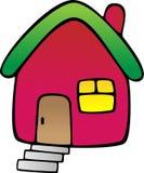 Casa rossa Immagine Stock Libera da Diritti