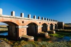 Casa Rossa Ximenes in Toscana, Italia Fotografia Stock Libera da Diritti