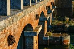 Casa Rossa Ximenes in Toscana, Italia Immagini Stock Libere da Diritti