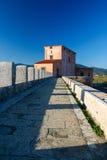 Casa Rossa Ximenes in Toskana, Italien Lizenzfreie Stockfotos