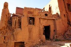 Casa rovinata Immagini Stock
