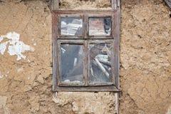 Casa rovinata abbandonata Fotografia Stock