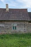 Casa rovinata bielorusso Fotografia Stock Libera da Diritti