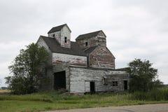 Casa rovinata del deposito in Manitoba, Canada Immagini Stock Libere da Diritti
