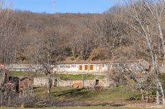 Casa rovinata dell'azienda agricola Fotografia Stock Libera da Diritti
