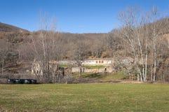Casa rovinata dell'azienda agricola Fotografia Stock