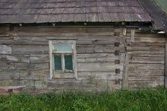 Casa rovinata parete il secolo scorso Immagini Stock Libere da Diritti